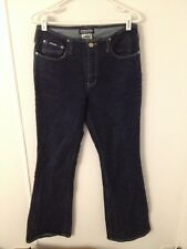 Dark Wash STRETCH FLARE Jeans by Gasoline  Size 11 / 12 EXCELLENT CONDITION!