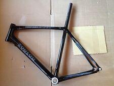 Zoulou Inkosana IST Carbon Rennradrahmenset+Gabel, 57 cm, schwarz, NEU