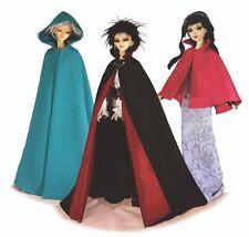 BJD SD Pattern #24 -The Cloak 60cm & 70cm dolls Classic Vampire & dress Cloak