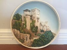 Vintage Decorative 3D Plate Made In Spain Item #2