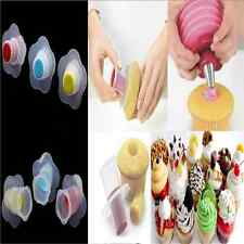 1PC Cupcake Muffin Cake Divider Model Pastry Corer Plunger Cutter Decorating New