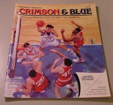 KU Jayhawk Basketball Program - Pepperdine Dec 16, 1989