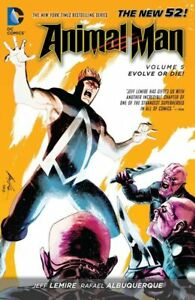 Animal Man New 52 Volume 5 Evolve or Die! Softcover Graphic Novel