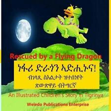 Rescued by a Flying Dragon : An Illustrated Children's Story in Tigrinya by...
