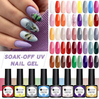 12 Bottles UR SUGAR Smalto Gel UV Soak Off UV Gel Nail Set Long Lasting 7.5ml