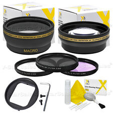 52mm Deluxe Filter and Lens Kit for Gopro Hero3 Hero4 Cameras