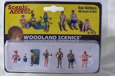 Sun Bathers Woodland Scenics A1853 HO Scale Figures