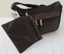 LeSportsac 7507 Deluxe Everyday Bag Coffee Dark Brown NWT