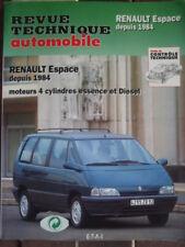 REVUE TECHNIQUE RENAULT ESPACE 4 Cylindres depuis 1984