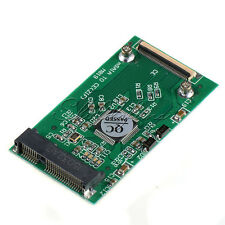 "New Mini mSATA PCI-E 1.8"" SSD To 40pin ZIF CE Cable Adapter Converter Card"