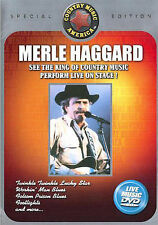 Merle Haggard Live - King of Country Live on Stage DVD