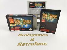 Super Nintendo Spiel   The Lord of The Rings Volume 1   Snes   Ovp   Pal