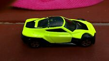Vintage Hot Wheels Mattel Symbolic Neon Yellow Green Weird Paint Job unknown car