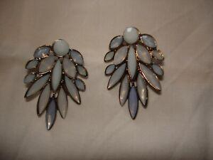 blau/graue Ohrringe von Bijou Brigitte