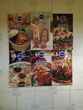 1990s Pillsbury 5 Set Holiday Cookbook Collection Meals Desserts Winter