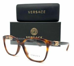 VERSACE VE3235BA 5217 Havana / Demo Lens 54mm Eyeglasses
