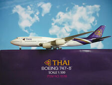 Hogan Wings 1:500 Boeing 747-8 Thai Airways LI9598 + Ailes De Herpa Katalog