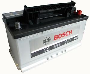 Bosch batteria per auto S3013 90 Ah dx pronta all'uso spunto 720 A