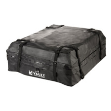 Waterproof Canvas Car Top Roof Bag Luggage Cargo Carrier Weather Resistant Box