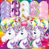 UNICORN PINK PURPLE BALLOON balloons BIRTHDAY PARTY LATEX LOL UNICORNS