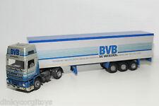 TEKNO DAF 95 TRUCK WITH TRAILER BAS VAN BUUREN BVB N MINT