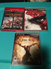 God Of War PS3 Collection!! 1 - 2 - 3 - Ascension!! Complete! Great Condition!!