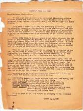 1947 BEOWULF author poll from Gerry de la Ree - FORREST ACKERMAN COLLECTION