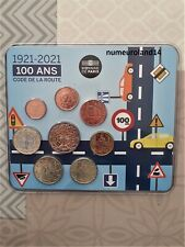 DISPO Mini set FRANCE 2021 (8 pièces) Code de la route 500 ex. Envoi en suivie.