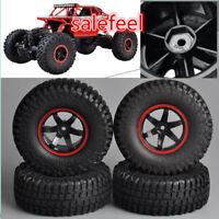 1:10  RC Model 4WD Rock Crawler Car Truck  Rubber Tire Tyre & Wheel Rims  4PCS