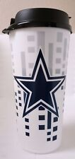 DALLAS COWBOYS NFL  32 OUNCE SINGLE WALL PLASTIC TRAVEL TUMBLER MUG