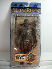 Lord of the Rings ROTK Cirith Ungol Uruk Hai w/ Sword Slashing Action ~ NEW