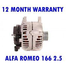ALFA ROMEO 166 2.5 3.0 3.2 2000 2001 2002 2003 2004 - 2007 ALTERNATOR