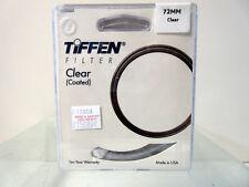 New Tiffen 72mm Clear Filter 72CLR