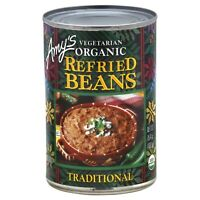 AMYS, BEAN REFRIED TRADTNL GF, 15.4 OZ, (Pack of 12)