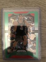 IVICA ZUBAC CLIPPERS GREEN REFRACTOR SP 2019-20 PANINI PRIZM #220
