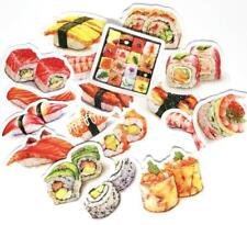 17pc Sushi stickers Lots Die-cuts for junk bullet journal scrapbook notebook