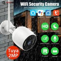 Wi-Fi FHD1080P Überwachungskamera IP66 wasserdicht,Kompatibel mit Amazon Alexa