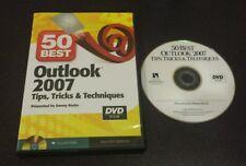 50 Best Outlook 2007 Tips, Tricks & Techniques (Pc Dvd-Rom) SkillPath Seminars