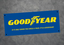 Goodyear Advertising Petrol Oil Man Cave Sign 500mm x 200mm