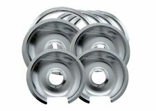 Range Kleen Kitchen Stove Electric Burner Drip Pans Set Replacement Parts Bowls