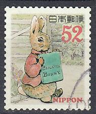 Japan Briefmarke gestempelt 52y Hase Tier Tierwelt Zeichentrick Animation / 3049