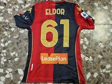Maglia Genoa shirt #61 Eldor Shomurodov  match worn Serie A 2020 2021