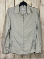 Kuhl XS Button Front Shirt Fitted Stretch Long Sleeves Hiking Outdoors Womens