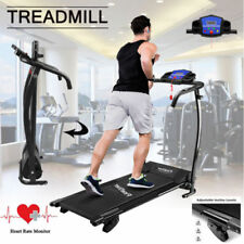 TREADMILL Incline Electric Motorised Folding Running Machine Fitness Workout AA