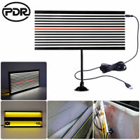 PDR LED Light Dent Doctor Line Reflector Board 2Side Paintless Hail Removal Tool