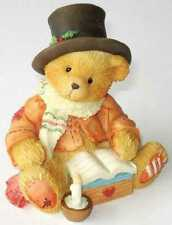 Cherished Teddies-Bear Cratchit-Merry Christmas to you Sr Scrooge - 617326
