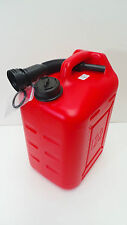 22L Portable Plastic Marine Outboard Fuel Tank Jerry can With Spout Sailing NS7