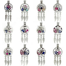 Beads Cage Locket Pendant Charms Bulk 12pcs! Dream Catcher Pearl Cage