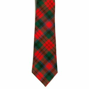 100% Wool Scottish Traditional Tartan Neck Tie - MacDuff