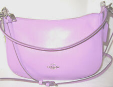 New Coach Chelsea Crossbody Bag Smooth Leather Wildflower Lilac NWT 37018 $225